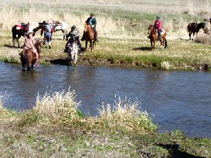 Panhandle Back Country Horsemen Rides - Escure Ranch